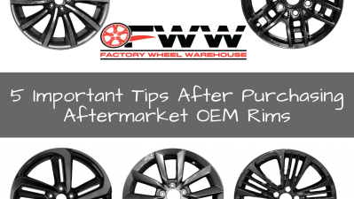 5 Important Tips After Purchasing Your Aftermarket OEM Rims
