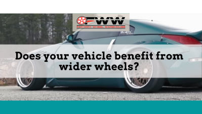 Does your vehicle benefit from wider wheels?